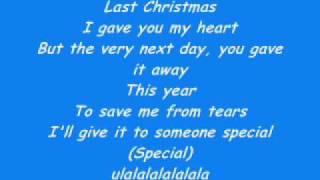 Ashley Tisdale Last Christmas lyrics