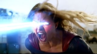 SUPERGIRL 1x06 Clip - Full Red Tornado Fight (2015) HD Melissa Benoist