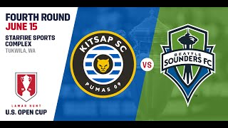 2016 Lamar Hunt U.S. Open Cup - Fourth Round: Seattle Sounders FC vs. Kitsap Pumas