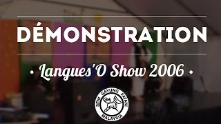 Pencak Silat - Seni Gayung Fatani - Langues'O Show 2006