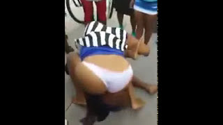 izikhokho  fighting girls on the streets