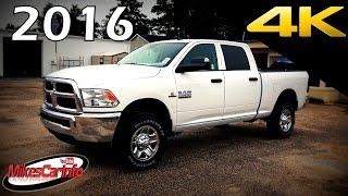 2016 RAM 2500 HD Tradesman Cummins Diesel - Ultimate In-Depth Look in 4K