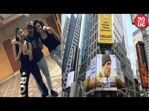 Taapsee Disses Rumours Of Bad Blood With Jacqueline | Salman's 'Tubelight' Poster At Times Square