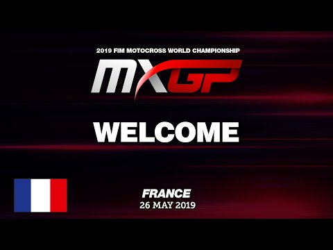 Welcome to the MXGP of France 2019 Motocross