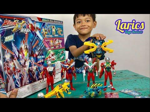 Unboxing Ultraman X - Bagus Sekali Mainannya - Lucu dan Seru