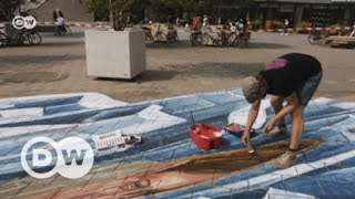 The art of illusion: 3D street art | DW English
