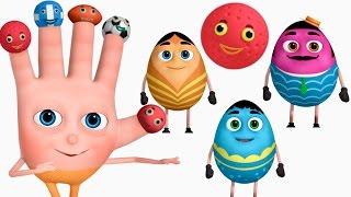 VeeJee Surprise Eggs Finger Family - Balls | Finger Family Collection