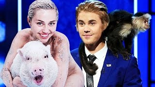 Justin Bieber, Miley Cyrus: The Cutest Celebrity Pets