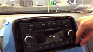 onstar fmv wiring diagram 2011 dodge caravan how to remove radio dash stereo install diy