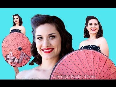Xxx Mp4 Pin Up Girl Bettie Page Parasol Review Retro A Go Go Aubrey London Makeup Hair 3gp Sex