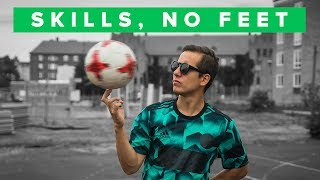 Top 5 football skills without using your feet!