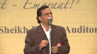 6. Iqbal Ashar - Hamari Association Mushaira - Dubai 2012