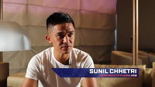 """""""As an Asian, I am going to root for them and hoping they have a fantastic World Cup,"""" Sunil Chhetri"""