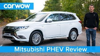 Mitsubishi Outlander PHEV SUV 2019 in-depth review   carwow Reviews