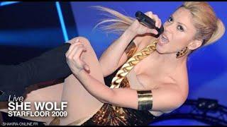 Shakira ~ She Wolf [Live in Paris Starfloor Night 2009] HD