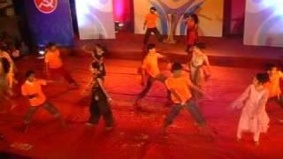 GOVINDA song - Chendhare Sanman 2009.Award function Alibag. A_TV Program