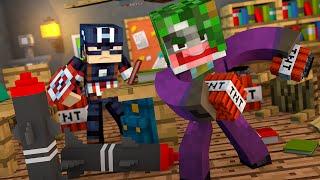 Minecraft: BOMBA NA ESCOLA! (Vida de Herói #2)