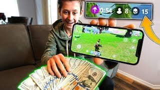 1 KILL = $1000 TO MY LITTLE BROTHER! FORTNITE: BATTLE ROYALE $1000 FOR EVERY KILL!   David Vlas