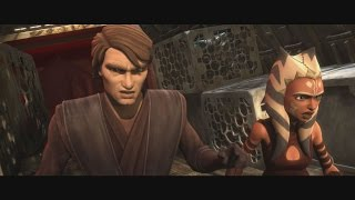 Star Wars: The Clone Wars - Ahsoka Tano & Anakin vs Darts D'Nar & Blixus [1080p]