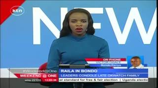 Raila leads CORD leaders in sustaining onslaught against Jubilee as they converge in Bondo