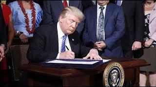 Trump signs memorandum targeting 'China's economic aggression'