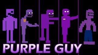 Evolution of Purple Guy in FNAF (2014-2016)
