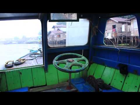 Banjarmasin Floating Market | Wisata Kelotok Sungai Kuin | Pasar Terapung
