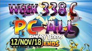 Angry Birds Friends Tournament All Levels Week 338-C PC Highscore POWER-UP walkthrough