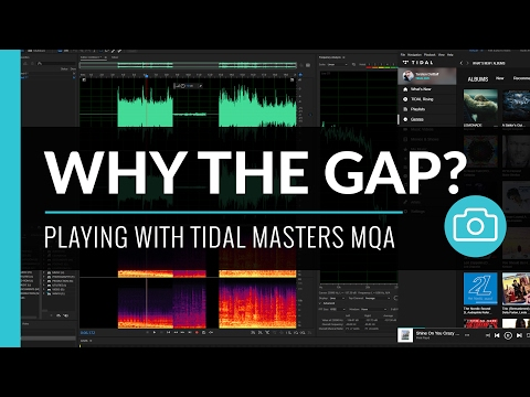 Tidal Masters MQA - Why the Frequency Spectrum Gap?