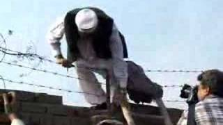 NWFP Senior Minister Siraj-Ul-Haq Escaping