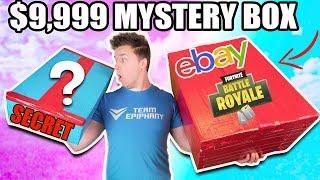$9,999 VS $100 EBAY MYSTERY BOX ⁉️📦 Fortnite, Toys & More! (Unboxing)
