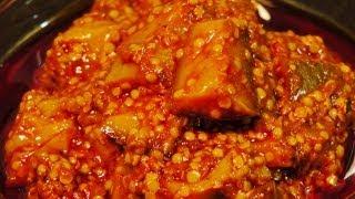 Mango Pickle (Roast salt to preserve pickle longer)