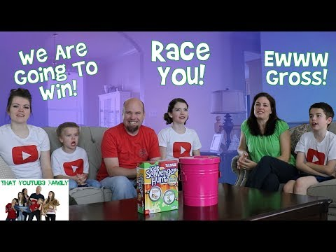Family Indoor Scavenger Hunt That YouTub3 Family