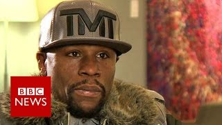 'I am best boxer ever' Floyd Mayweather Jr - BBC News