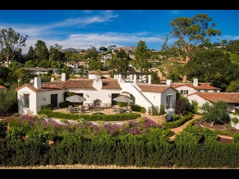 Quintessential Historic Hacienda in Santa Barbara, California