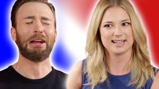 "Chris Evans & the ""Captain America: Civil War"" Cast Play ""Superhero Would You Rather?"""