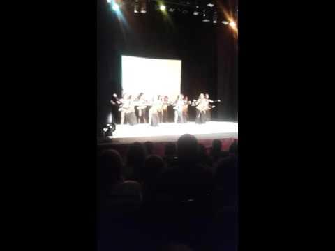 Las chicas del ballet YONATHAN DE LOS SANTOS en CARACAS DTO.CAPITAL