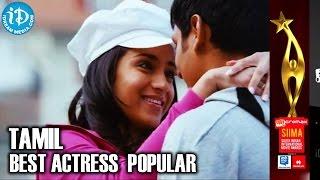 SIIMA 2014 Tamil Best Actress | Trisha | Endrendrum Punnagai Movie