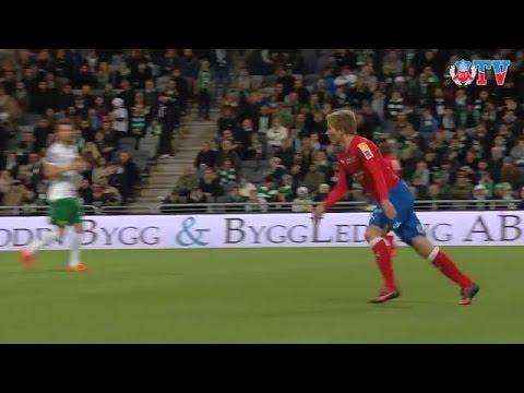 Highlights: Hammarby IF - HIF 1-4