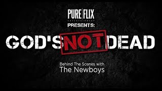 God's Not Dead - Behind the Scenes with Newsboys