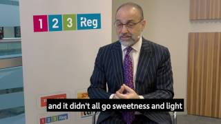Theo Paphitis tells us about his journey to success - 123 Reg