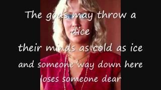 ABBA The Winner Takes It All w lyrics