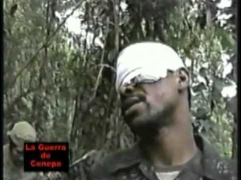 PRISIONERO ECUATORIANO EN EL ALTO CENEPA 1995