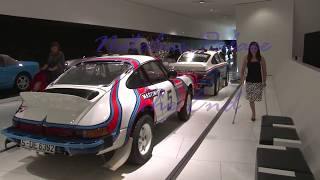 Amputee Neli visits a car museum