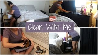 Clean With Me! | Bedroom & Closet | Switching My Clothes From Winter To Summer!