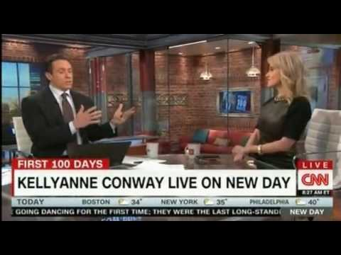 Chris Cuomo vs Kellyann Conway clash over President Trump Health Care and Wire tapping