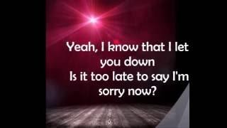 Justin Bieber Sorry (Lyrics)