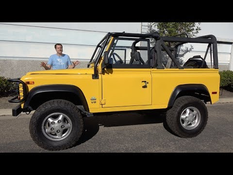 Here s Why the Land Rover Defender Costs So Much in the USA