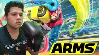 ARMS Nintendo Switch Riser Boxeando