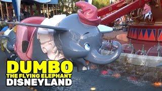 Dumbo the Flying Elephant full ride at Disneyland